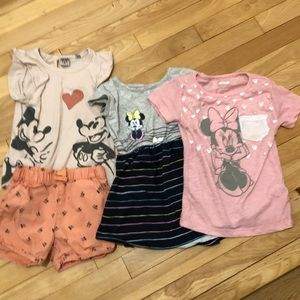 4T Minnie Lot - Dress, T-shirt, Outfit